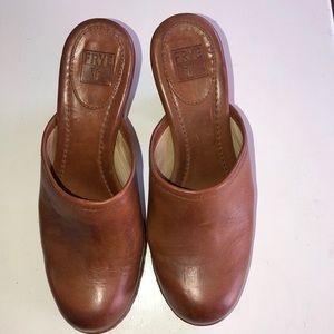 Never worn Frye Jessica bohemian slide